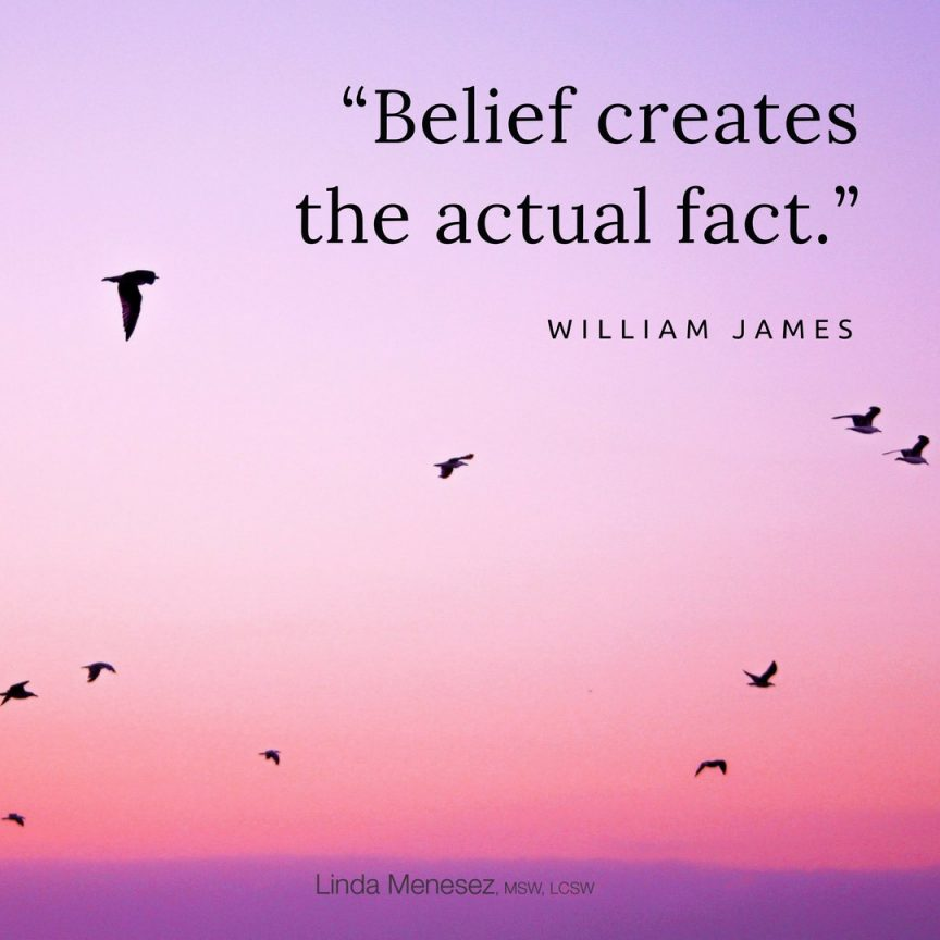 The Power of Our Beliefs!